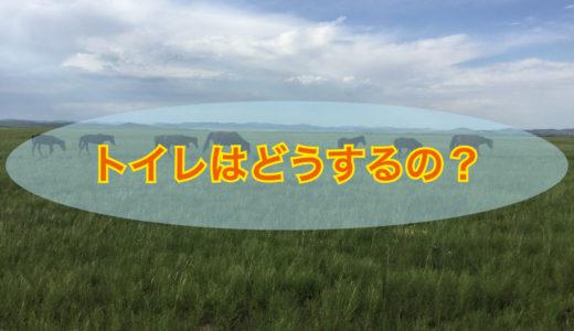 【内モンゴルのトイレ事情】草原ではどうするの?