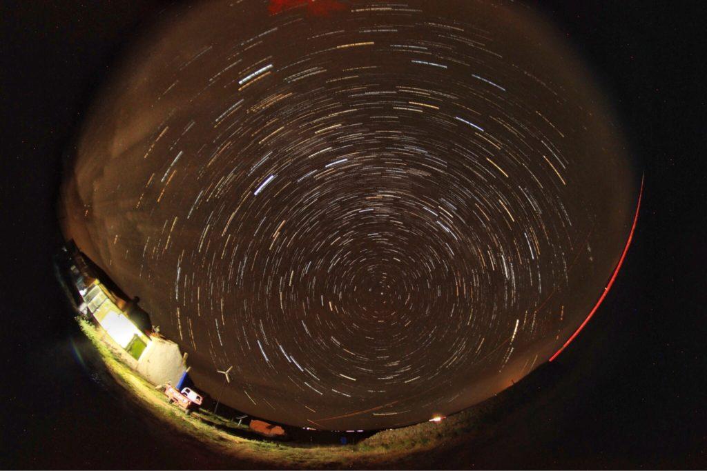 星の定点撮影