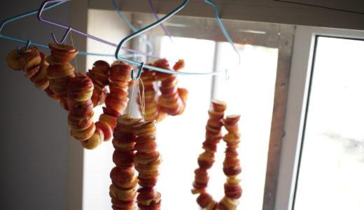 【内モンゴルグルメ情報】干しリンゴを作ってみた!