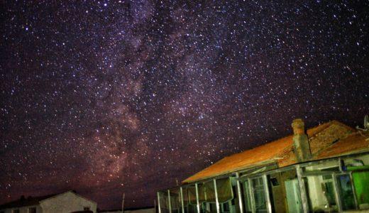 内モンゴルの草原の空は満天の星!星空を撮影しました!